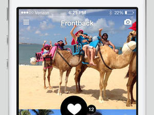 App of the Week: Frontback Photo App Takes Simultaneously Front and Back Images