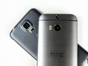 HTC One (M8) vs. Samsung Galaxy S5: Android's Biggest Heavyweights