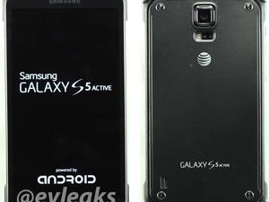 7 Pictures Of The Galaxy S5 Active For AT&T Leaked
