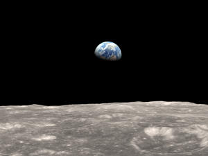 Earth is sending oxygen to the moon