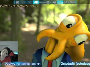 New Face Recognition Software Allows You to Control Octodad With Your Face!