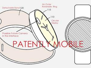 Samsung Patents a Circular Smartwatch with Rotating Ring Controller