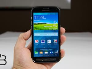 Galaxy S5 Active Unboxing: Tougher Than Your Dad