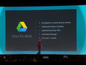 Google Drive for Work Announced With Unlimited Storage