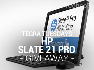 Tegra Tuesday Giveaway: HP Slate 21 Pro