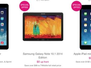 T-Mobile Knocks $100 Off the Latest Apple and Samsung Tablets