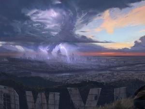 This is the First Piece of Concept Art for Cliff Bleszinski's Next Game, Blue Streak
