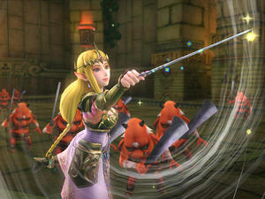 Zelda Uses The Wind Waker in this Hyrule Warriors Trailer