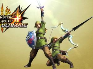 Link's Clothes and Gear in Monster Hunter 4 Confirmed for America
