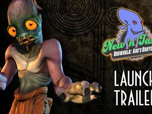 Oddworld New 'n' Tasty Launch Trailer Brings Back Mid 90s Memories