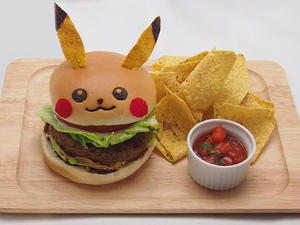 Pikachu Cafe in Tokyo Has Pikachu Burgers and Pikachu Curry