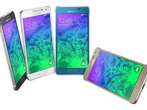 Samsung's Metal Galaxy Alpha Is Official, But It's Lacking