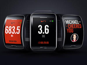 Gear S First to Get Nike+ Running App