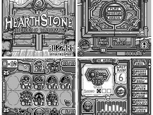 Hearthstone Demade for the Game Boy is Glorious