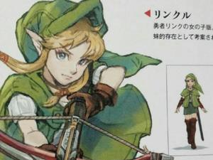 Link Almost Had a Female Design in Hyrule Warriors Named Linkle