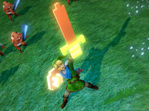 It's Dangerous to Go Alone in Hyrule Warriors. Take This!