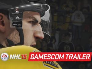 NHL 15's Gameplay Trailer Sports PS4 and Xbox One Gameplay