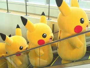 Pikachu Invades Yokohama and Learns to Surf in Pokemon X and Y