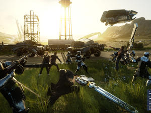 Final Fantasy XV Combat Footage, One-Button Combat Concerns Addressed
