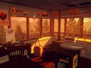 Firewatch Asks a Man to Stay in his Tower and Protect the Wilderness