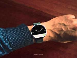 "First Moto 360 Ad Says ""It's Time for a Modern Timepiece"""
