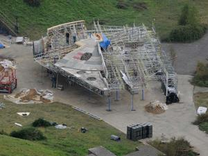Star Wars Episode VII Set Pics Hint at Return to a Familiar Locale