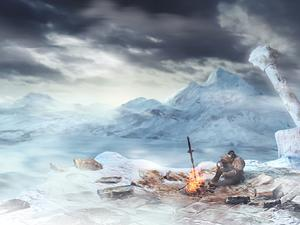 "Dark Souls II ""Crown of the Ivory King"" DLC Trailer - Winter Wonderland of Death!"