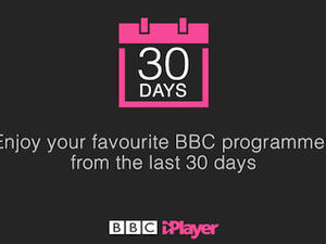 BBC iPlayer Viewers Now Have up to 30 Days to Catch Up on Shows