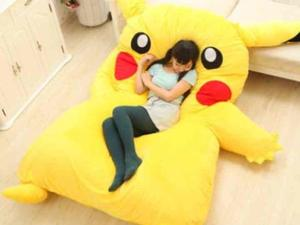 Gotta Catch All Them Z's on This Adorable Pikachu Bed