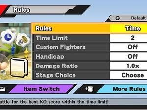 """Super Smash Bros. for Wii U to have """"More Rules"""" Unlocked Immediately"""