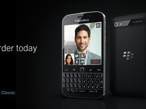 BlackBerry Classic Pre-Orders Go Live Ahead of December Launch