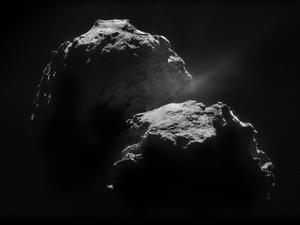 Philae Lander Found Organic Molecules on Comet's Surface
