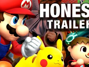"""""""Honest Game Trailers"""" Roasts Super Smash Bros. for the Wii U"""