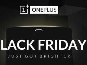 OnePlus Teases Black Friday Deals, And You Help Decide the Prices