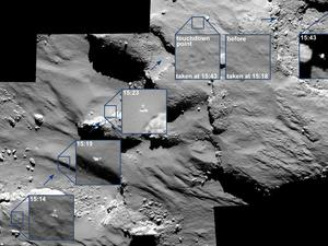 Incredible Photos Show Philae's Historic Bouncy Landing
