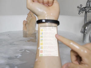 Cicret Braclet Turns Your Arm into a Touchscreen Display