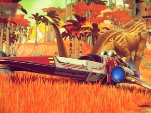 One day with No Man's Sky and I'm wonderfully overwhelmed