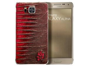 Samsung's Galaxy Alpha Now Available in Alligator Leather