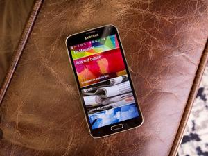 The Galaxy S5 is the most popular Samsung smartphone in the US