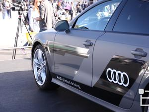 Audi A7 Concept First Look - This Car Drove Itself From California to Las Vegas