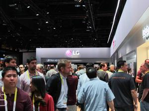 LG Booth Tour at CES 2015: Exploring the Future of Technology