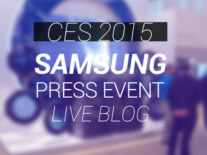 Samsung CES 2015 Liveblog: Join Us For All of the Announcements
