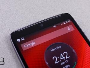 Preview Android 5.1 for the Motorola DROID Turbo on Verizon's website