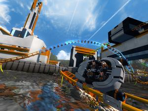 We played the ScreamRide demo, and it shows lots of promise
