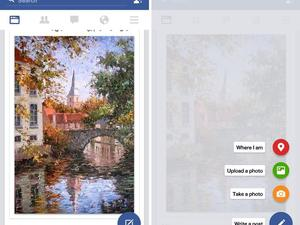 Facebook is testing a new Material Design overhaul for its Android app