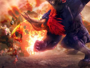 Ganon is absurdly large and destructive in Hyrule Warriors