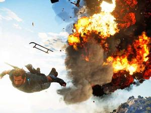 Screenshot Saturday - Will Just Cause 3 be the first game to blow me away in 2015?