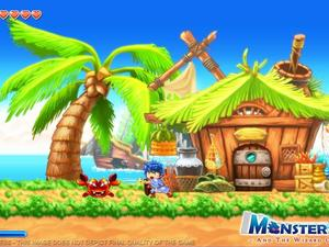 Monster Boy and the Wizard of Booze is a Successor to Classic SEGA Franchise