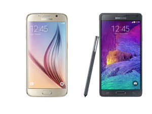 Galaxy S6 vs Galaxy Note 4 spec shootout!