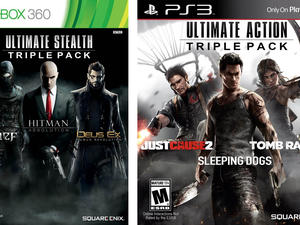 Square Enix Triple Packs on Xbox 360, PlayStation 3 Arrive Stateside in March